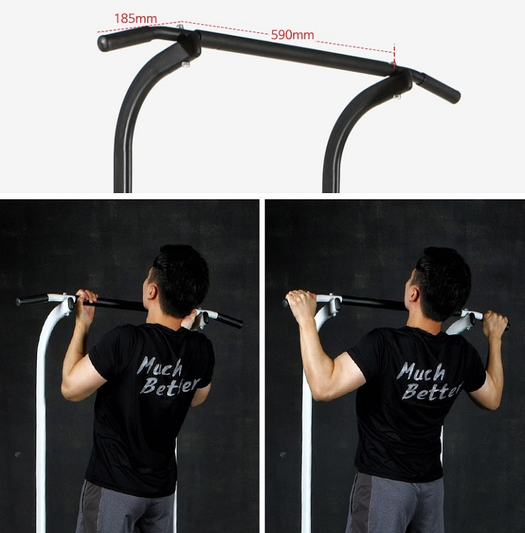 parallel bars chin assisted machine chinning dipping
