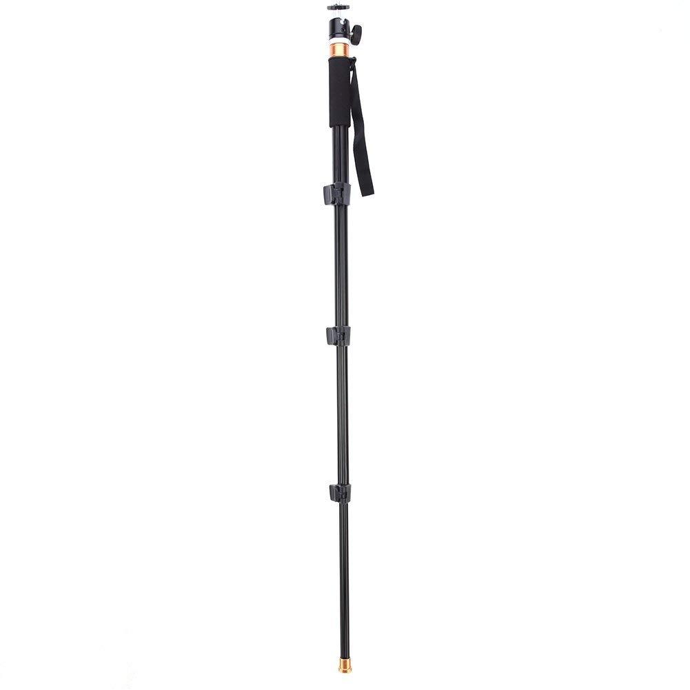 ERTIANANG Mini Aluminum fashionable Monopod Selfie Stick Camera Monopod with Mini Ball Head for DSLR Camera