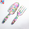 Novelty decorative flowered mini hand teen girls garden trowel spade tool set