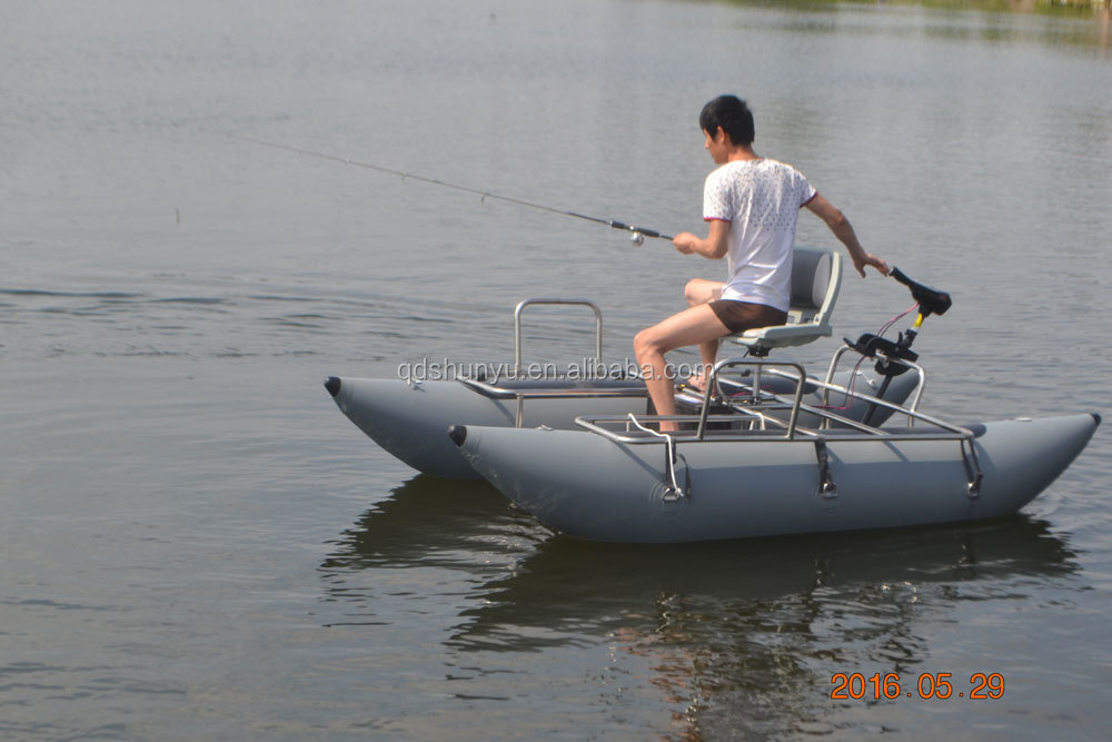Wholesale Inflatable Pontoon Fishing Boat Inflatable