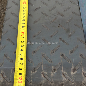 Q235 S235 Steel Checker Plate hot rolled steel coil 1mm Professional Steel Supplier 12mm checker plate