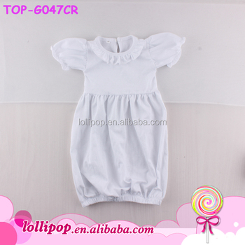 2bfeddff6 Pictures Of Latest Designs Infant Sleep Gown Plain Blank White ...
