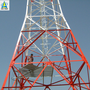 Nine Year Foreign Trade Experience Hot Dipped Galvanized Cellular Radio Am Fm Digital Tv Antenna Lattice Tower