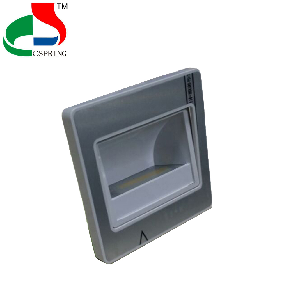 Curtain Wall Mounted Battery Operated Tile ABS Led Step Light