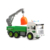 Super plastic environment clean vehicle truck toy with light and music