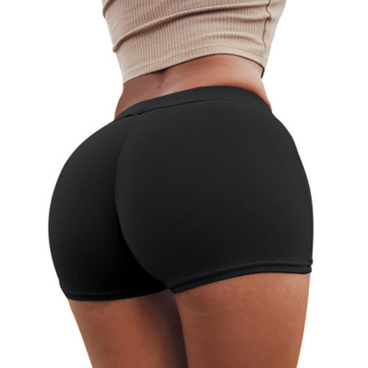 Großhandel Frauen Sexy Gym-frauen Shorts fitness sport Scrunch Butt booty yoga Shorts