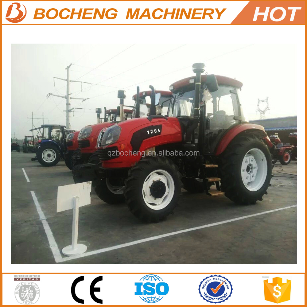 70HP lawn tractor mini front end loader with farming hoe