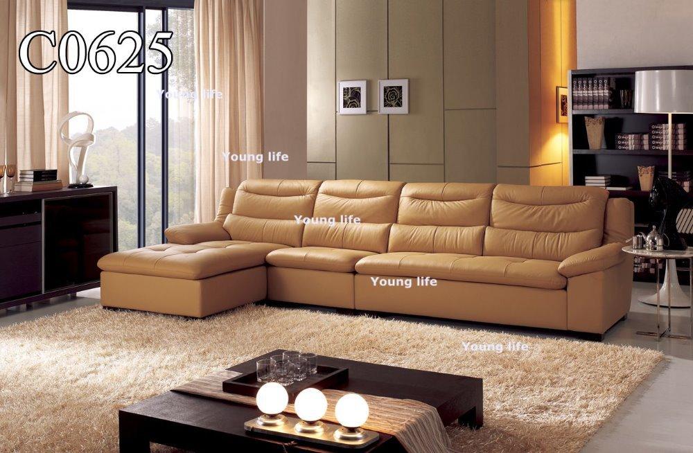 Elegant Life Genuine Leather Sofa Living Room Sofa C0625
