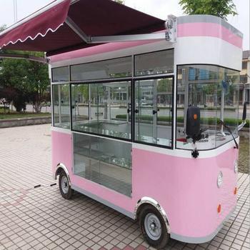 208f89cb8953b2 Food snack machine cars concession car with ice cream shop interior design