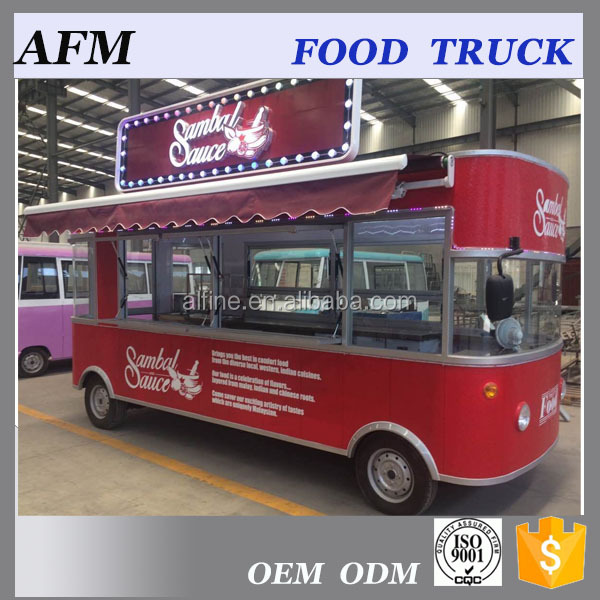2017 popular electric food truck catering truck