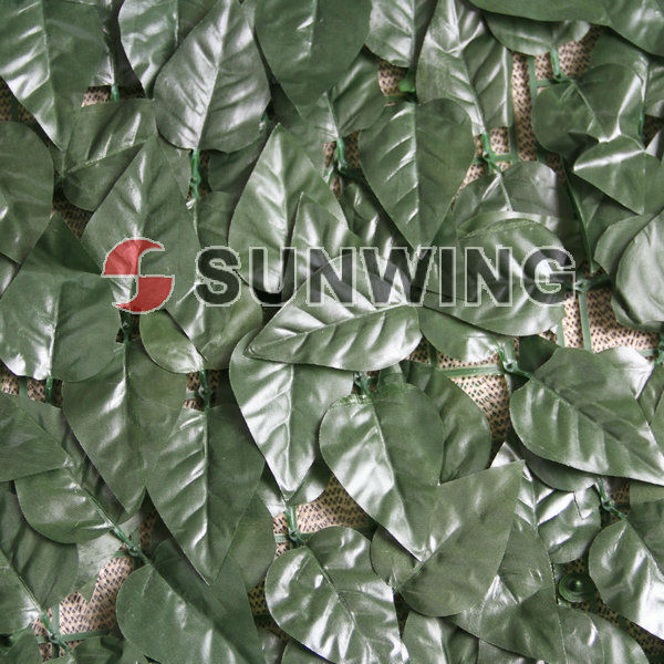 artificial leaf hedge for wall with test report(V-7)