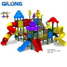 China supplier playground equipment cheap plastic playgrounds slide