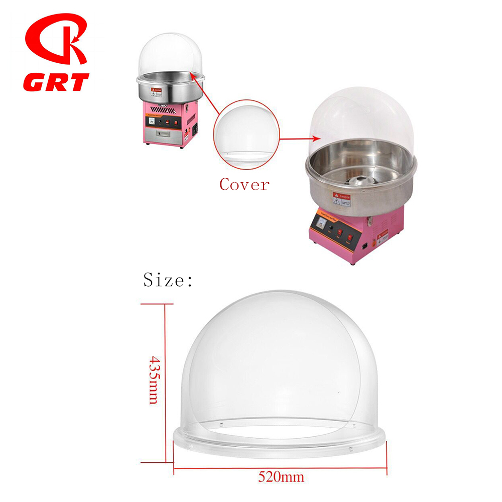GRT-ZA-01 Hot Selling Candy Floss Machine Met Cover