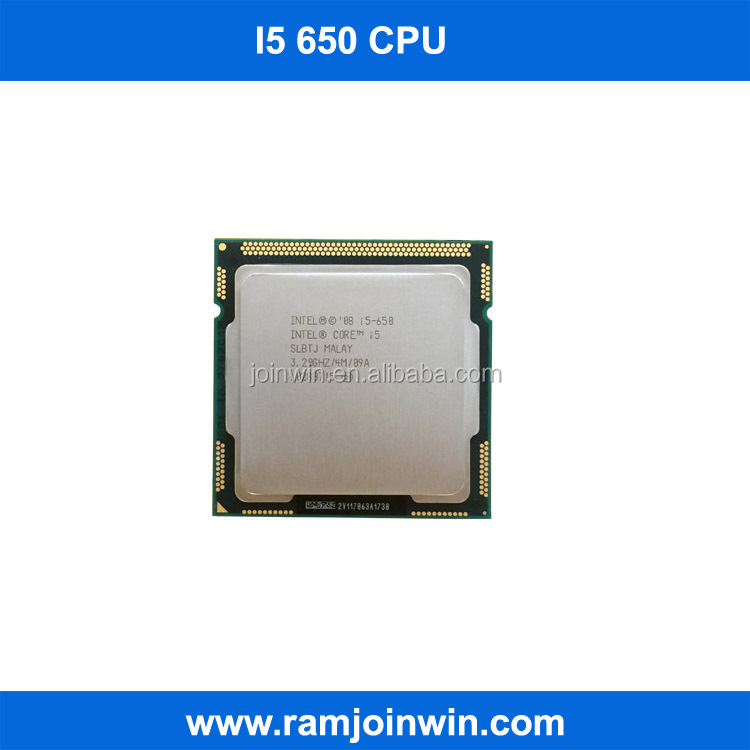 Refurbished LGA 1156 intel core i5 650 core cpu processor