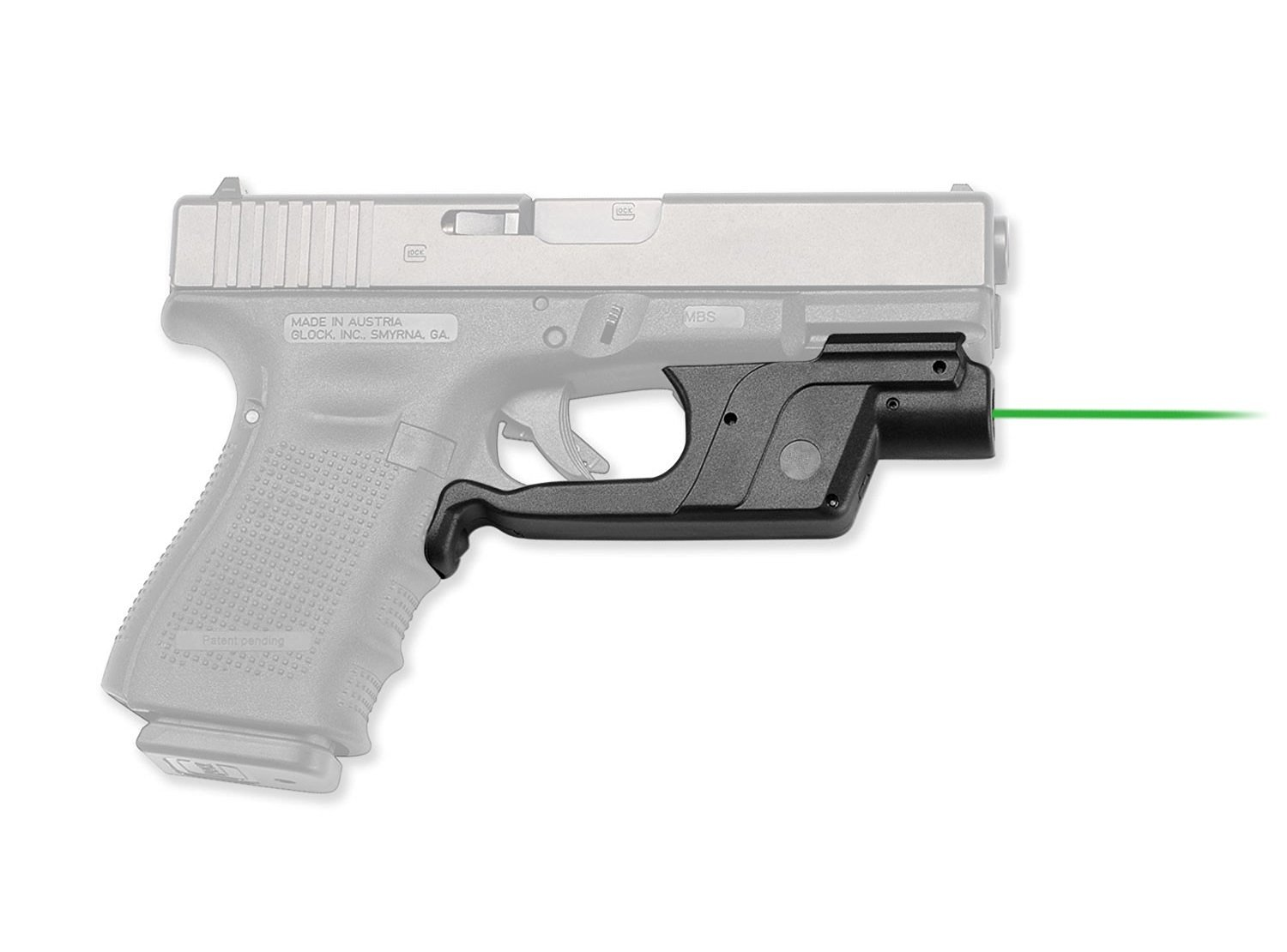 Laser Sight for Glock Gen 3 /& 4 Full Size /& Compact