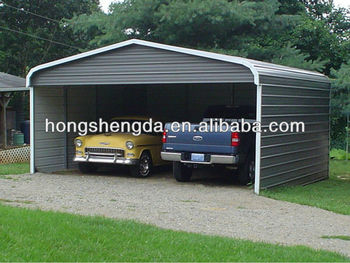 China Low Cost Two Car Carports