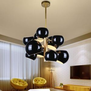 Aicco New design China Manufacturer low price ceiling fan chandelier combo lighting