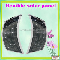 100w solar pv module china 1kw semi flexible solar panel china pv solar cell panel