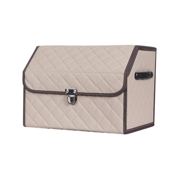 Premium Faltbare Große Kapazität Automotive Fracht Lagerung box fall auto trunk organizer box