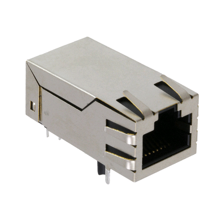 A67-112-200P415 Senza LED 100M Magnetico 10 Pin Ethernet RJ45 Connettore