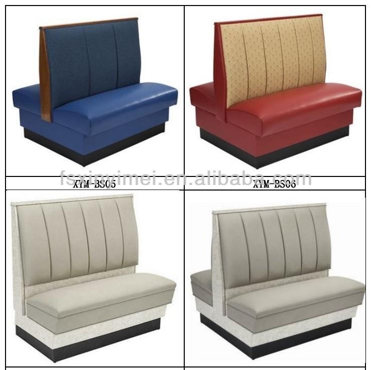 Sofa Restaurant Restaurant Furniture Simple Design Leather Cover Booth Thesofa
