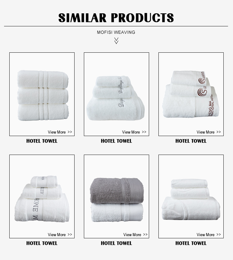 Goedkope custom bleach hotel handdoeken bad 100% katoen