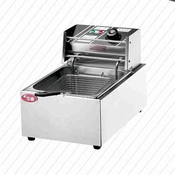 Counter Top Commercial Electric Deep Fryer Heavy Duty Fryers Machine