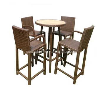 High Bar Stool Set Garden Line Patio Furniture Buy High Bar