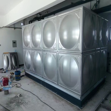 Selling large capacity can be customized stainless steel square water tank