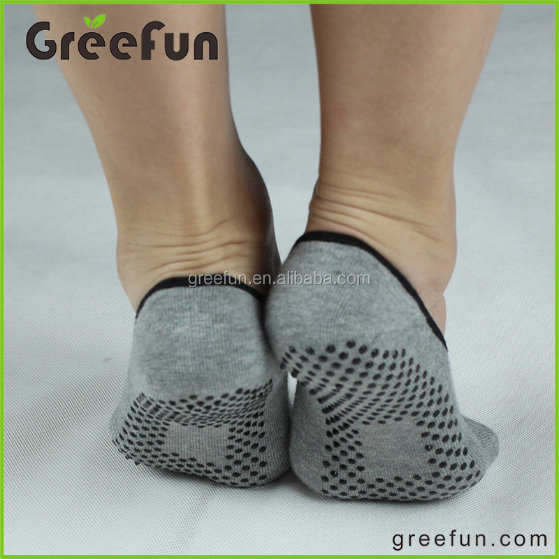 Custom Design Fitness Toeless Sock For Women & Men,Organic Knit Non-slip  Grip Socks For Barre,Pilates,Studio And Yoga - Buy Yoga Sock,Pilates
