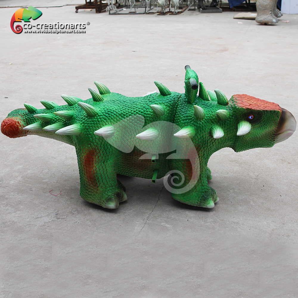 Special dinosaur car for kids amusement walk the dinosaur