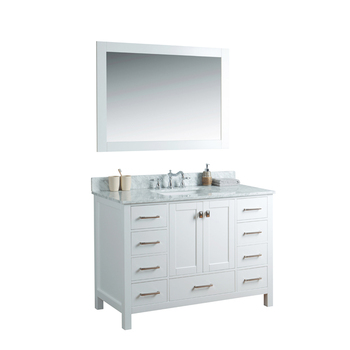 Homedee 12 Inch Deep Base Cabinets Bathroom Vanity ...