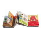 Cardboard children custom coloring tamil story books printing