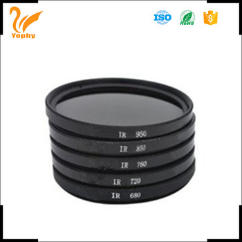 Digital Camera Filter Infrared 58mm 680nm 720nm 760nm 850nm 950nm IR