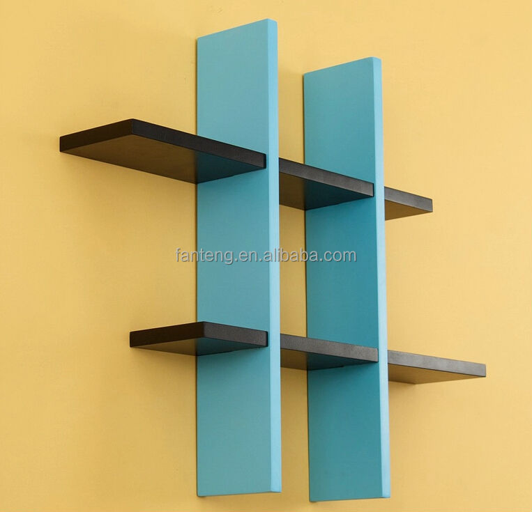 Detachable Wall Shelf Wood Decor Diy