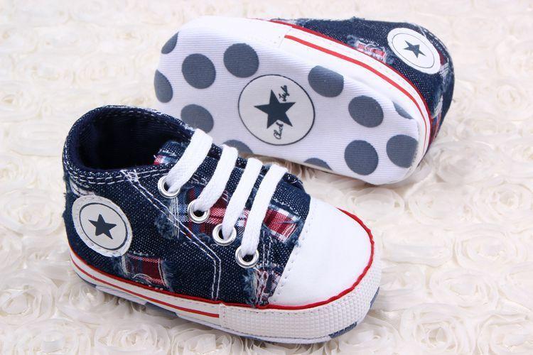 Newest Retail Boys Star Brand Canvas baby toddler shoes 11cm 12cm 13cm spring autumn children footwear