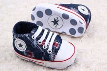 Retail Boys Star Brand Canvas baby toddler shoes 11cm 12cm 13cm spring autumn children footwear firstwalker