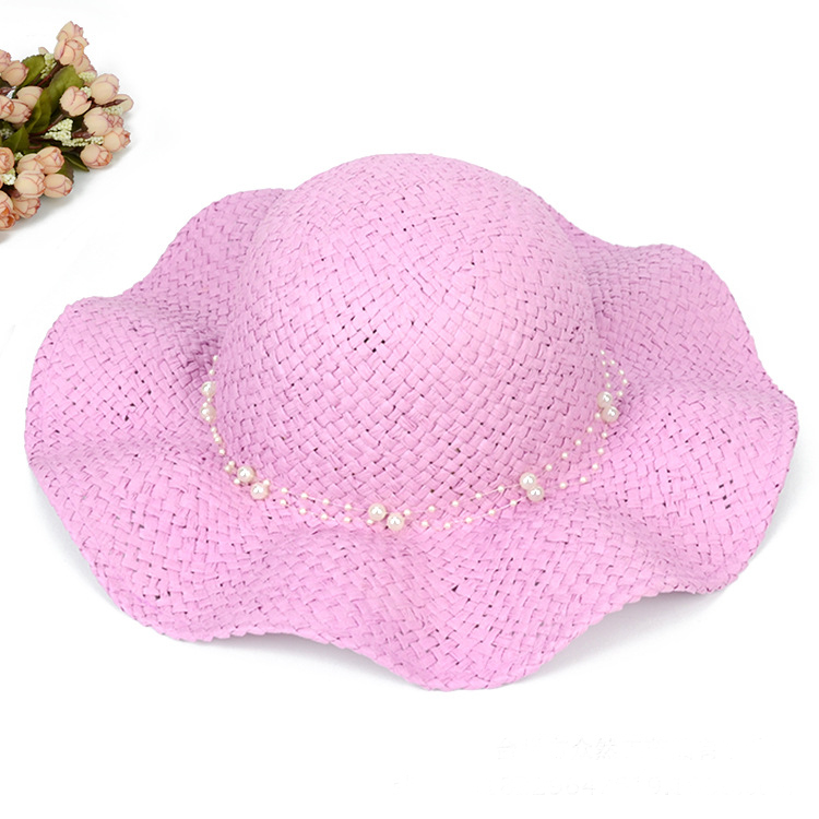 34d017e30d1 Foldable summer ladies straw hats for holiday women woven sun hats beach  paper straw weaving hats