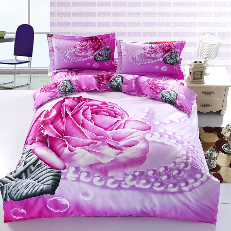 grossiste parure de lit fleurie acheter les meilleurs parure de lit fleurie lots de la chine. Black Bedroom Furniture Sets. Home Design Ideas