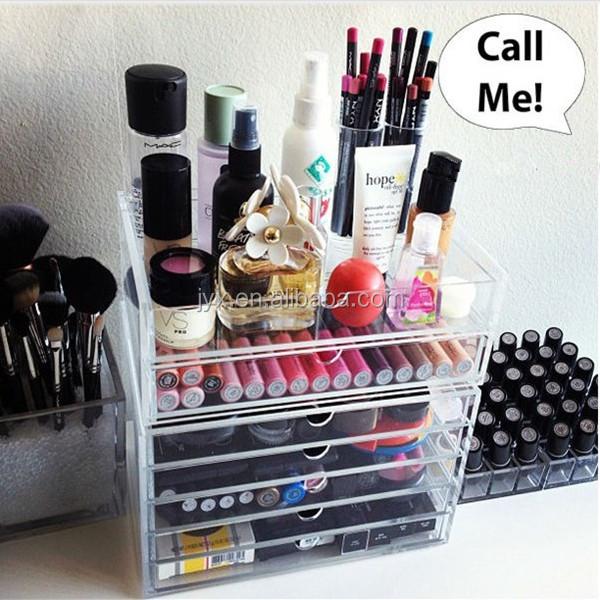 maquillage acrylique boîte de rangement pour opi gros vernis À