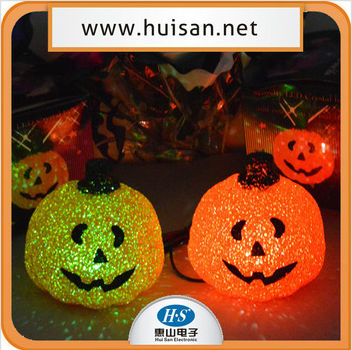 2014 halloween party decoration led eva pumpkin toys for kids and adults