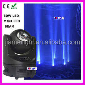 mini laser stage lighting projector for led mini moving head 60W led moving head beam light led super beam light for disco