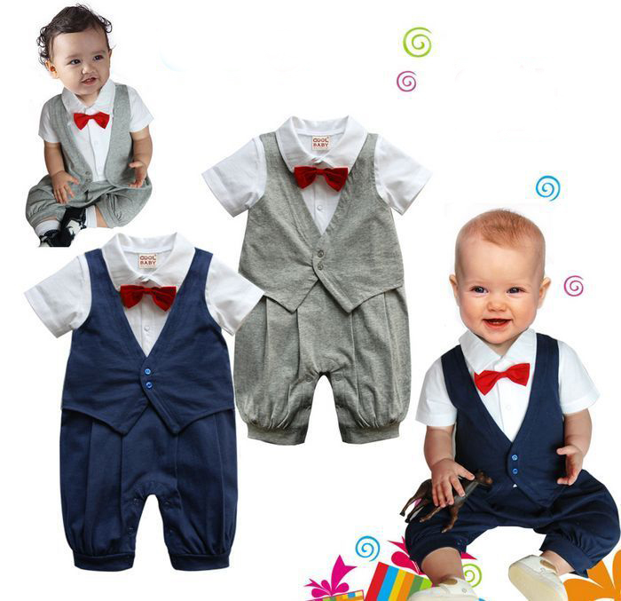Get Quotations 2015 Baby Boys Romper Gentleman Modelling Bebe Infant Roupas Short Sleeve Climb Clothes Newborn Conjuntos Sleepsuits