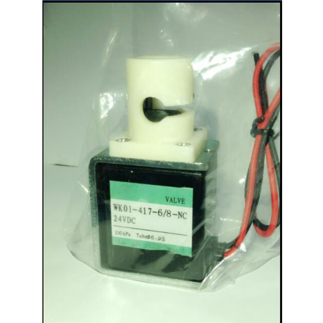 black solenoid pinch valve for Medical