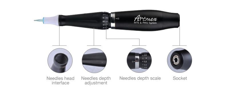 Heißer verkauf produkte Mikropigmentation Semi Permanent Make-Up Digitalen Maschine Für Augenbraue Tattoo Microblading