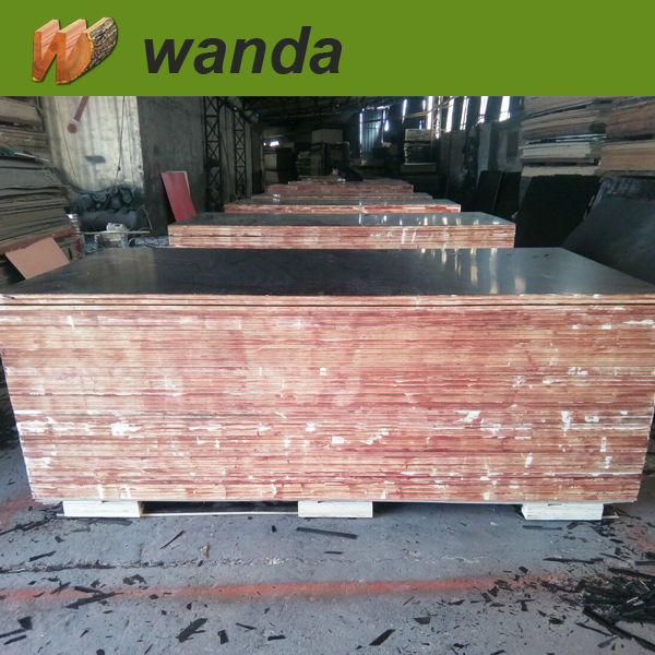1220x2440mm shuttering plywood from Wanda wood