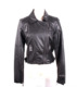Lady custom made fashion leather motorcycle jacket brands