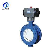 best factory direct supply wafer type flange connection butterfly valves