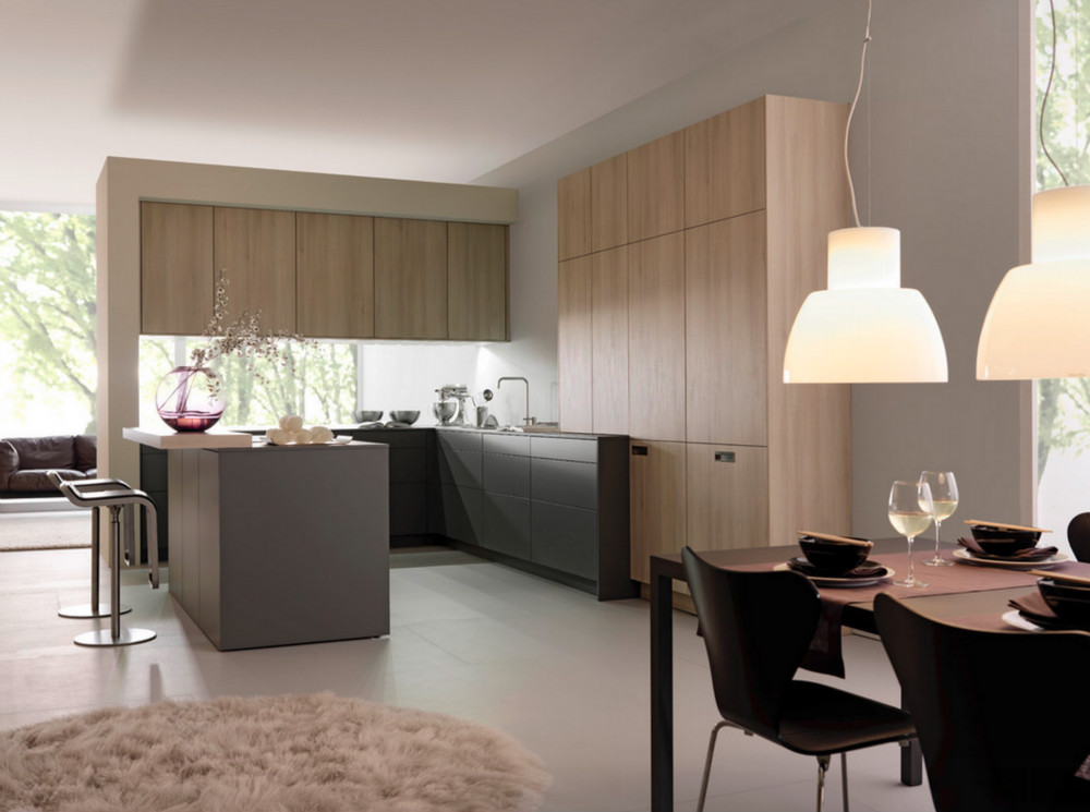 Armadi da cucina di design modulare mobile da cucina con tolix