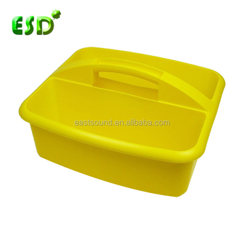 Esd Plastic Cleaning Supplies Organizer Caddy - Buy Supplies ...